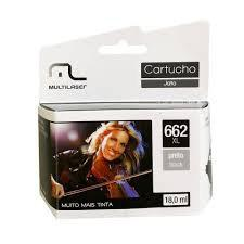 Imagem de Cartucho Impressora Comp. P/ Hp Mod. 662 Preto Co662p