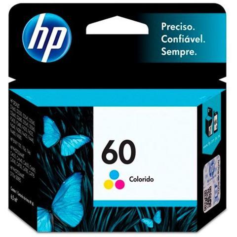 Imagem de Cartucho Impressora HP Deskjet 60 CC643WB 6,5ml - Tricolor
