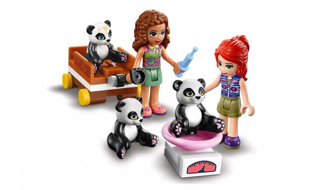 Imagem de Casa do Panda na Árvore da Selva Lego Friends