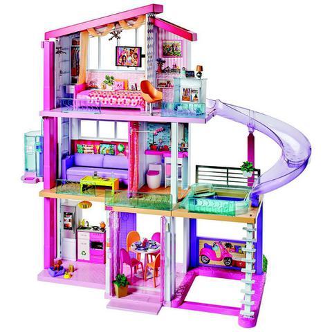 Imagem de Casa dos Sonhos da Barbie com Acessórios - 75 Cm - Mattel