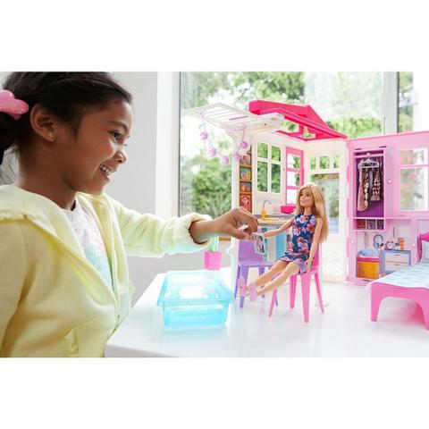 Imagem de Casa Glam com Boneca Barbie - Mattel