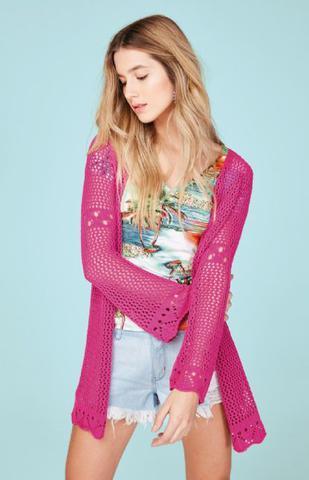 c1aeaa3a0d05 Casaco enfim feminino trico - Moda Feminina - Magazine Luiza
