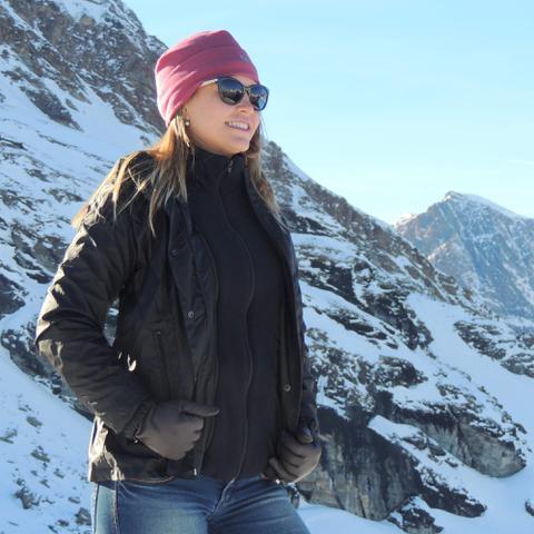 Imagem de Casaco Térmico Feminino Neve 3 em 1 Mountain Creek - Preto