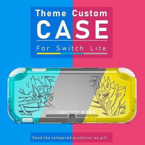 Imagem de Case Acrílico e Película Vidro Nintendo Switch Lite Pokémon Sword