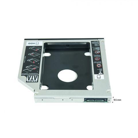 Imagem de Case Adaptador Universal 9.5mm - Segundo Hd Ssd Sata No Notebook - Caddy