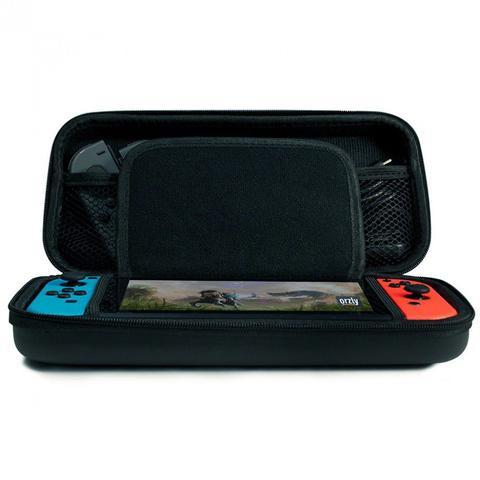 Imagem de Case Capa Estojo Proteção Nintendo Switch  com Pelicula Vidro