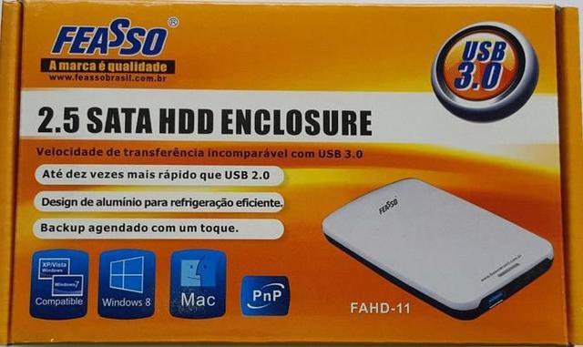 Imagem de Case HD 2.5 Sata USB 3.0 Feasso
