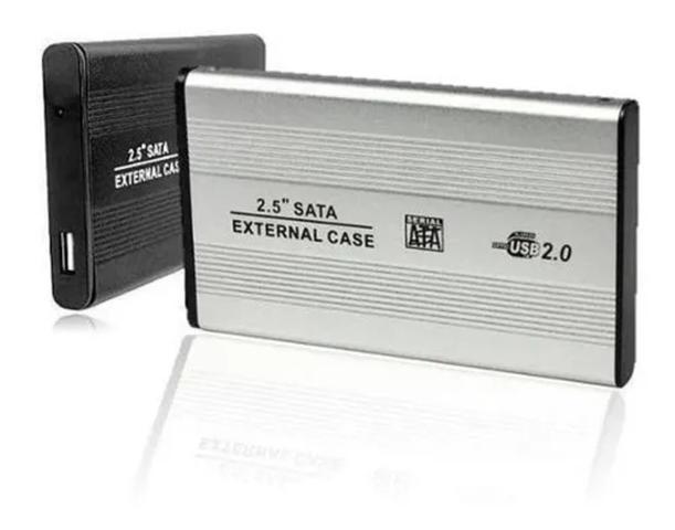 Imagem de Case Hd 2,5 Sata Notebook Usb 2.0 Gaveta Alumínio Externo