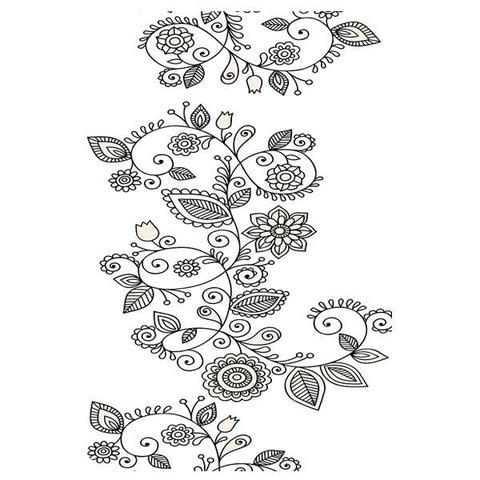 Imagem de Case Para Celular Pong Clear Tattoo 1 Para Galaxy S5 Mini - Ref 35060