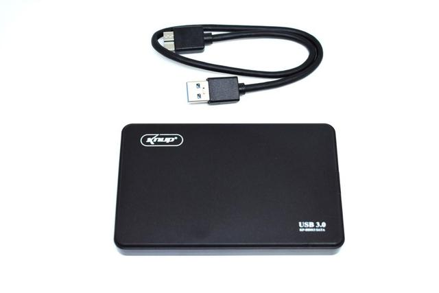 Imagem de Case Para hd Externo Usb 3.0 2.5 Hd Notebook Sata Compatível Pc Xbox Ps3 Ps4 - Exbom