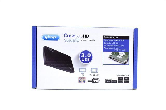 Imagem de Case Para hd Externo Usb 3.0 2.5 Hd Notebook Sata Compatível Pc Xbox Ps3 Ps4