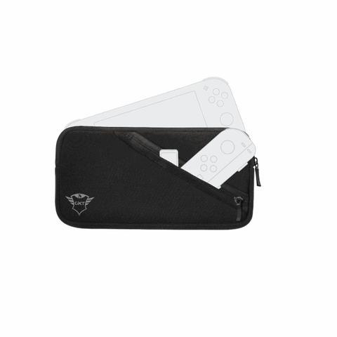 Imagem de Case Para Nintendo Switch Lite Trust Tador GXT1240 Antichoque Neopreme c/ Bolso Preto