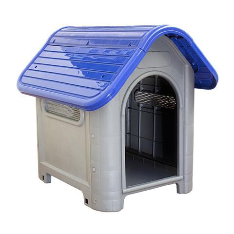 Imagem de Casinha de Cachorro Grande Mec Pet Azul