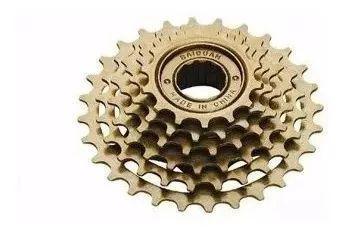 Imagem de Catraca Roda Livre 6 Velocidades Para Bike 18 Marchas
