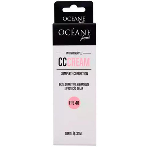 Imagem de CC CREAM Base Corretivo Hidratante e Protetor Solar Ocean Femme