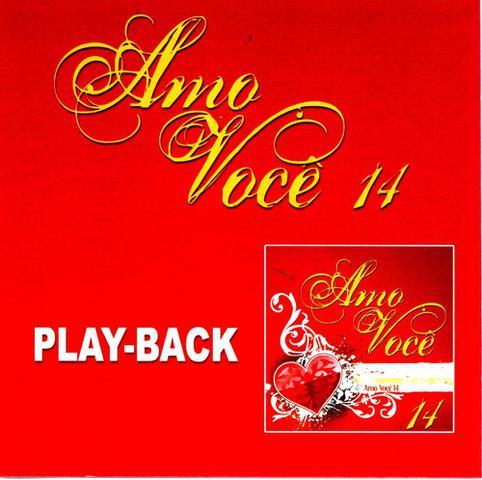 Imagem de CD Amo você Vol.14 (Play-Back)