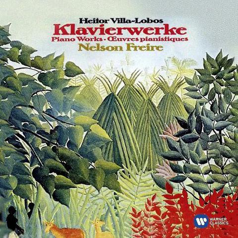 Imagem de CD  Heitor Villa-Lobos, Nelson Freire - Klaviertrios