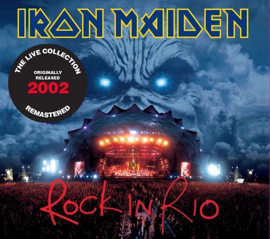 Imagem de Cd iron maiden - rock in rio (2002) - remaster (2 cds)