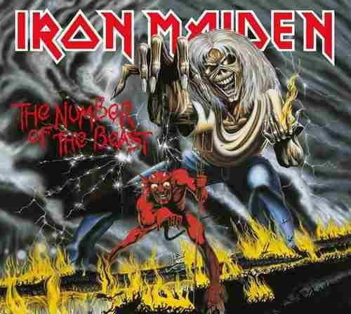 Imagem de Cd iron maiden - the number of the beast (1982) -  remastered