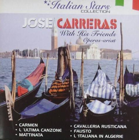 Imagem de CD JOSE CARRERAS - With His Friends