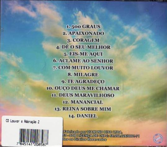 Imagem de CD Louvor e Adoração 2