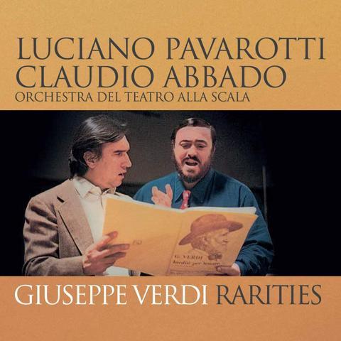 Imagem de Cd luciano pavarotti e claudio abbado rarities