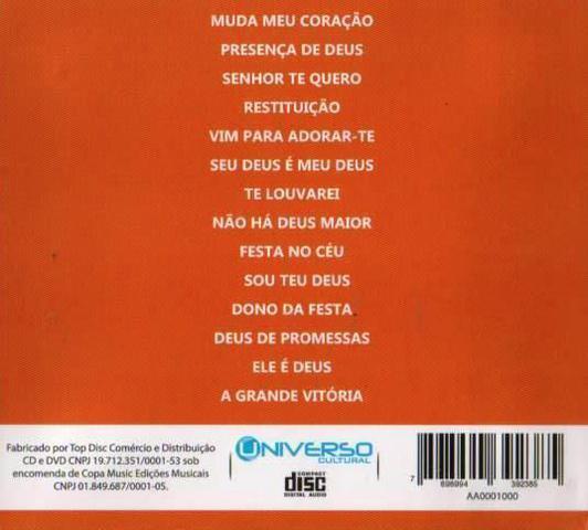 Imagem de CD Mais Que Vencedores