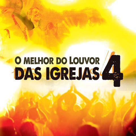Imagem de CD O Melhor do Louvor das Igrejas - Vol.4
