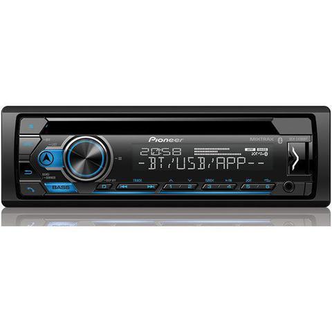 Imagem de CD Player Automotivo Pioneer Deh-S4180bt Mixtrax USB Entrada para Controle de Volante Bluetooth