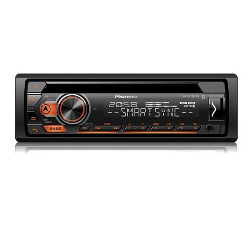 Imagem de CD Player Automotivo Pioneer Deh- S4180UB Bluetooth Controle Usb Aux Mixtrax