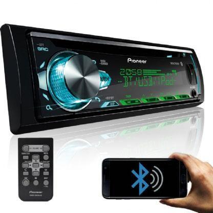 Imagem de Cd Player Deh-X50br Pioneer Mixtrax, Bluetooth, Interface Ipod Iphone