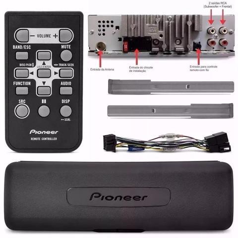 Imagem de Cd Player Pioneer Deh-s1050ub Mixtrax, 2 Saídas + Pendrive8g