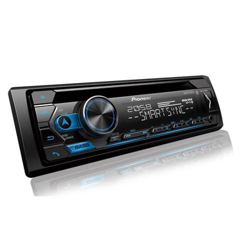 Imagem de CD Player Pioneer DEH-S4280BT, Bluetooth, USB, AUX, Radio AM/FM, Comando de Volante e Smart Sync