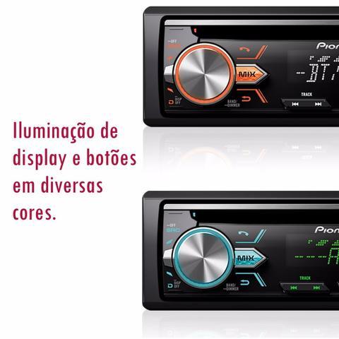 Imagem de Cd Player Pioneer Deh-x500br Som Automotivo Com Bluetooth*