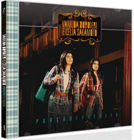 Imagem de CD Porção Dobrada 4 Vanilda Bordieri e Célia Sakamoto
