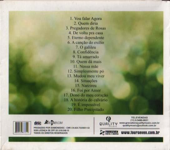 Imagem de CD Selecao Essencial - Marcos Antonio - As 20 Melhores 02