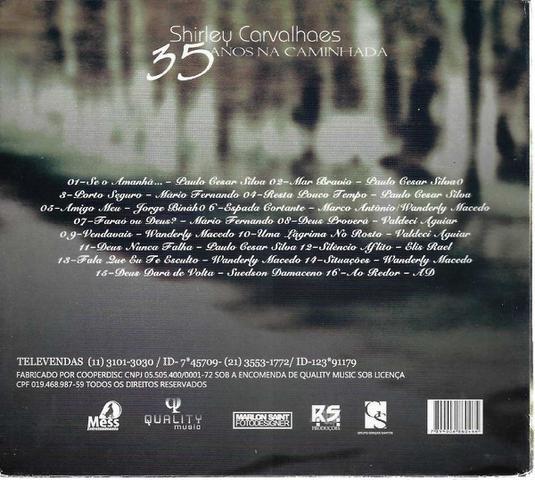Imagem de CD Shirley Carvalhaes - 35 Anos na Caminhada