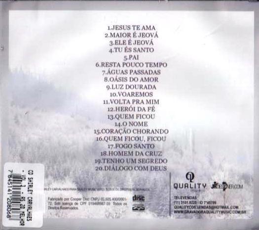 Imagem de CD Shirley Carvalhães  - Volume 3  - As 20 Melhores