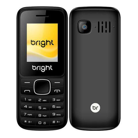 Celular Bright 0417 N/i Preto - Dual Chip