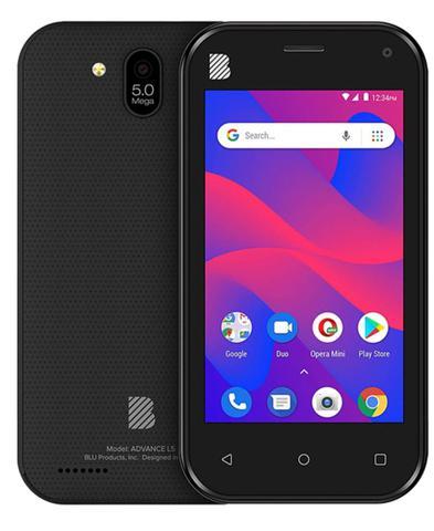 Celular Smartphone Blu Advance L5 16gb Preto - Dual Chip