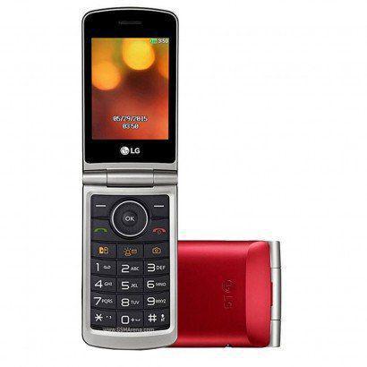 Celular LG G360 Vermelho - Dual Chip