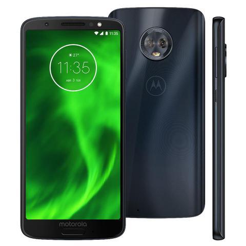 Imagem de Celular Moto G6 Xt1925 Dual 32gb 4g 5.7