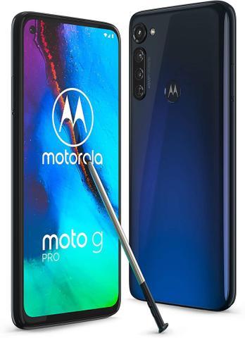 Celular Smartphone Motorola Moto G Pro Xt2043 128gb Azul - Dual Chip