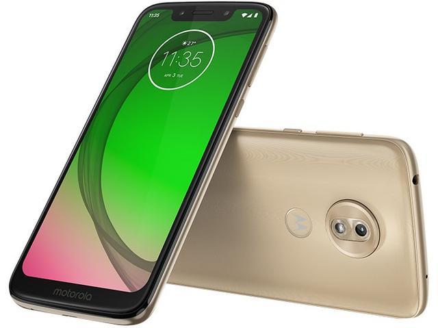 Imagem de Celular Motorola Moto G7 Play 32gb 2gb 5.7 13mp 8mp Dourado