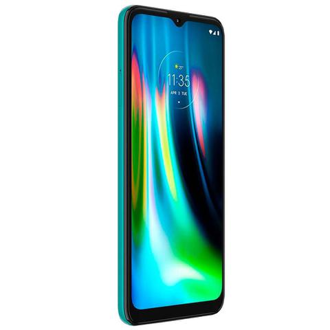 Imagem de Celular Motorola Moto G9 Play Verde 64GB Tela 6.5 Camera Tripla 48MP + 2MP + 2MP