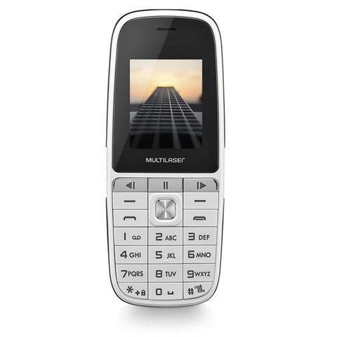 Imagem de Celular Multilaser Up Play Dual Chip Mp3 Câmera Branco - P9077