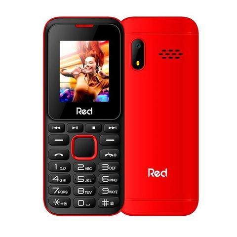 Celular Red Mobile Fit Music M011g Vermelho - Dual Chip