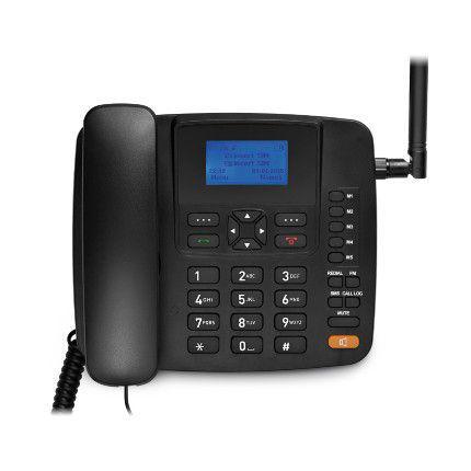 Imagem de Celular Rural Fixo Multilaser Quadriband 3G Preto RE504
