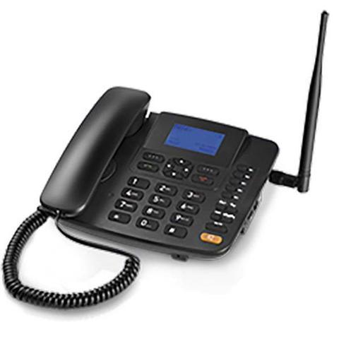 Imagem de Celular Rural Fixo Quadriband 3G Preto RE504 Multilaser