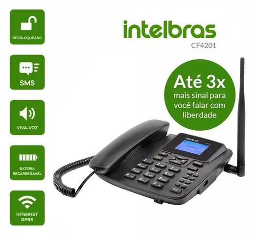 Imagem de Celular Rural Intelbras Cf-4201 Radio Fm Single S